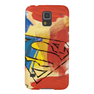 Superman Painted Logo Galaxy S5 Cover