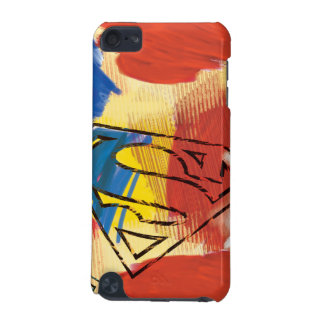Superman Painted Logo iPod Touch (5th Generation) Covers
