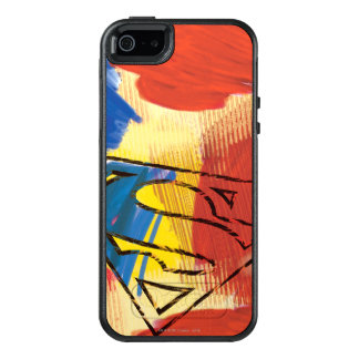 Superman Painted Logo OtterBox iPhone 5/5s/SE Case