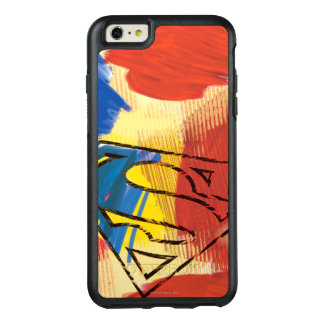 Superman Painted Logo OtterBox iPhone 6/6s Plus Case