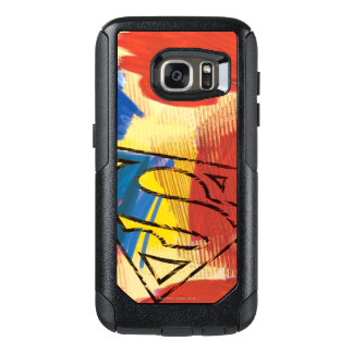 Superman Painted Logo OtterBox Samsung Galaxy S7 Case
