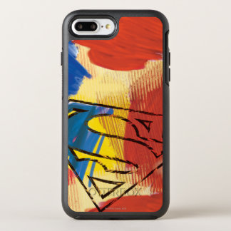 Superman Painted Logo OtterBox Symmetry iPhone 8 Plus/7 Plus Case