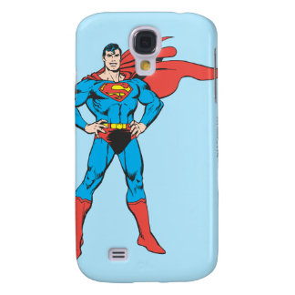 Superman Posing Galaxy S4 Case