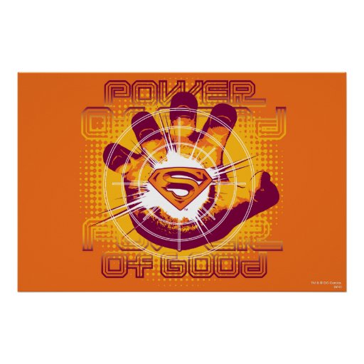 Superman Power of Good Poster