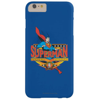 Superman - Power, Speed Barely There iPhone 6 Plus Case