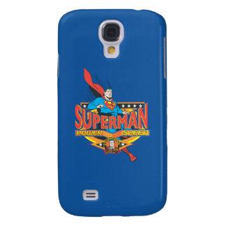 Superman - Power, Speed Galaxy S4 Case