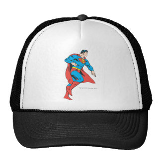 Superman Profile Mesh Hats
