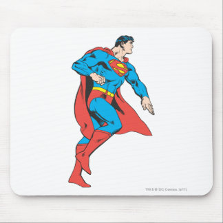 Superman Profile Mouse Pad