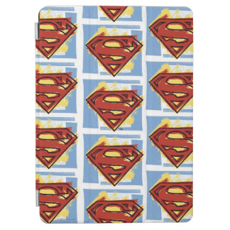 Superman Red and Blue Pattern iPad Air Cover