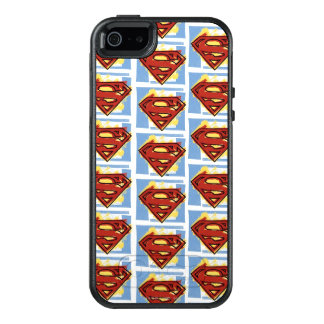 Superman Red and Blue Pattern OtterBox iPhone 5/5s/SE Case