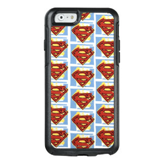 Superman Red and Blue Pattern OtterBox iPhone 6/6s Case