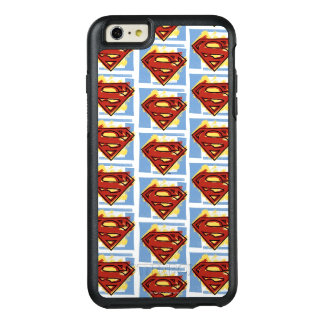 Superman Red and Blue Pattern OtterBox iPhone 6/6s Plus Case