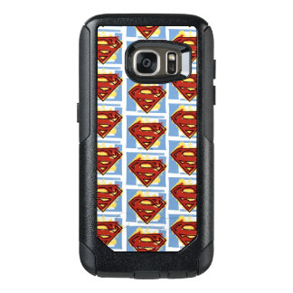 Superman Red and Blue Pattern OtterBox Samsung Galaxy S7 Case