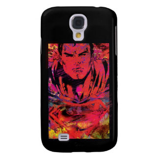 Superman Red Grunge Galaxy S4 Case