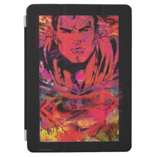 Superman Red Grunge iPad Air Cover