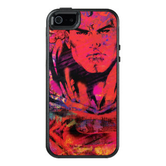Superman Red Grunge OtterBox iPhone 5/5s/SE Case