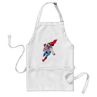 Superman rescues Louis Aprons