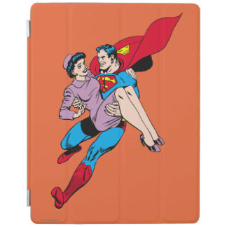 Superman rescues Louis iPad Cover
