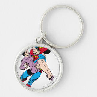 Superman rescues Louis Key Ring
