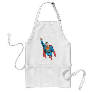 Superman Right Arm Raised Standard Apron