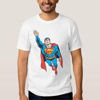 Superman Right Arm Raised T-shirts