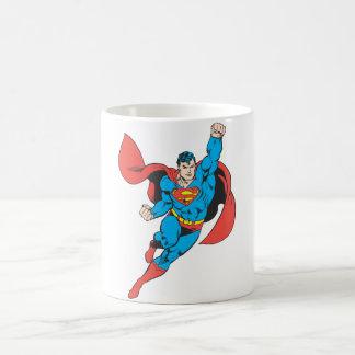 Superman Right Fist Raised Coffee Mug