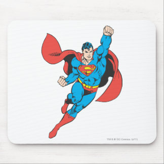 Superman Right Fist Raised Mouse Mat