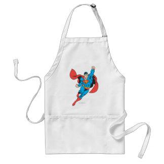 Superman Right Fist Raised Standard Apron