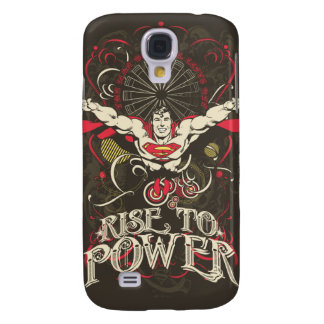 Superman - Rise To Power Poster Galaxy S4 Case
