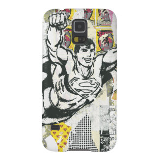 Superman - Rise UP Collage 2 Cases For Galaxy S5