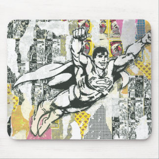 Superman - Rise UP Collage 2 Mouse Mat