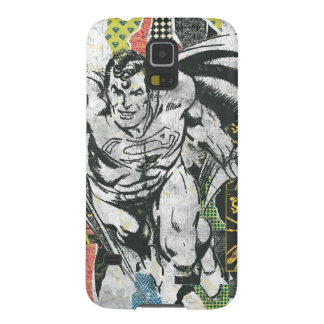 Superman - Rise Up Collage Cases For Galaxy S5