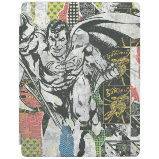 Superman - Rise Up Collage iPad Cover