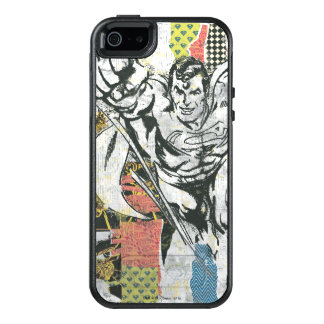 Superman - Rise Up Collage OtterBox iPhone 5/5s/SE Case