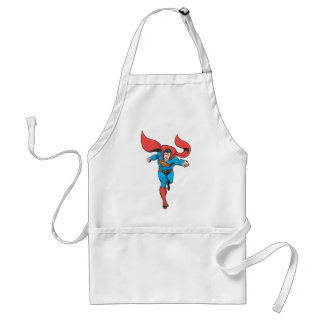 Superman Runs Forward 2 Apron