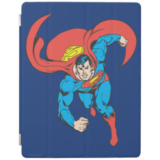 Superman Runs Forward iPad Cover