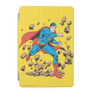Superman Runs in Rubble iPad Mini Cover