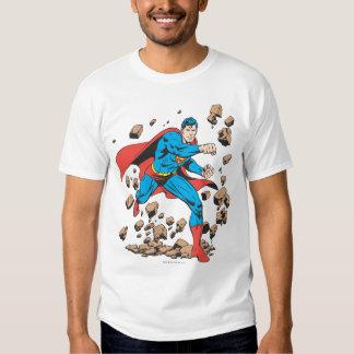 Superman Runs in Rubble T-shirt