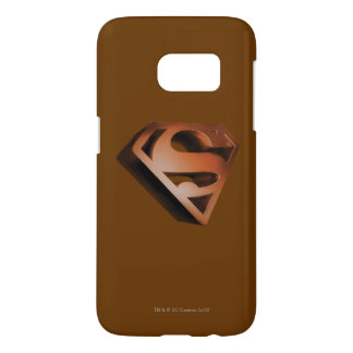 Superman S-Shield | 3D Grainy Logo