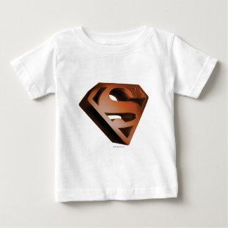 Superman S-Shield | 3D Grainy Logo Baby T-Shirt