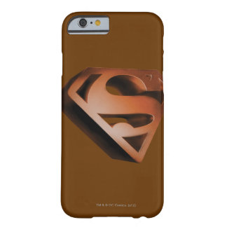 Superman S-Shield | 3D Grainy Logo Barely There iPhone 6 Case