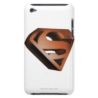 Superman S-Shield | 3D Grainy Logo Barely There iPod Covers