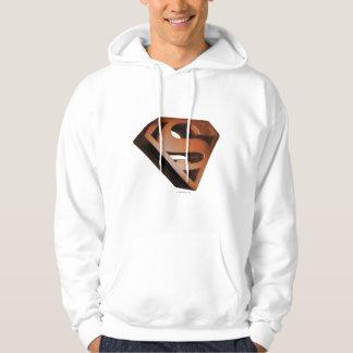Superman S-Shield | 3D Grainy Logo Hoodie