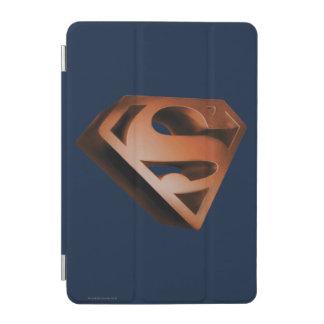 Superman S-Shield | 3D Grainy Logo iPad Mini Cover
