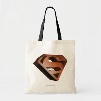 Superman S-Shield | 3D Grainy Logo Tote Bag