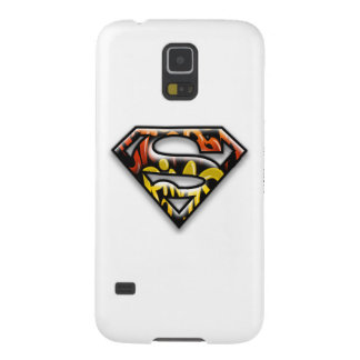 Superman S-Shield | Black Outline Graffiti Logo Case For Galaxy S5