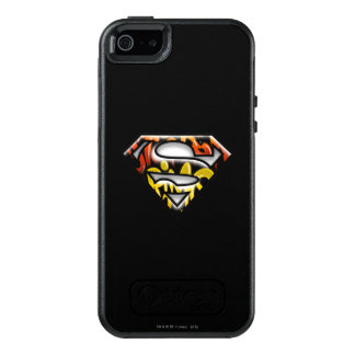 Superman S-Shield | Black Outline Graffiti Logo OtterBox iPhone 5/5s/SE Case