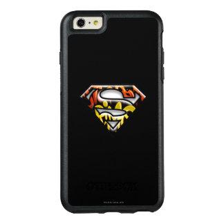 Superman S-Shield | Black Outline Graffiti Logo OtterBox iPhone 6/6s Plus Case