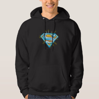 Superman S-Shield | Blue and Orange Logo Hoodie