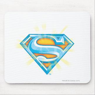 Superman S-Shield | Blue and Orange Logo Mouse Mat